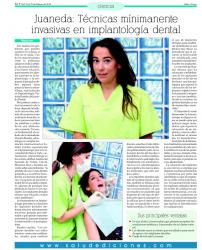 Juaneda: Técnicas mínimamente invasivas en implantología dental