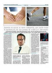 Juaneda incorpora un nuevo tratamiento que puede evitar la implantación de prótesis de rodilla