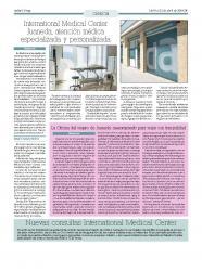 international Medical Center Juaneda, atención médica especializada