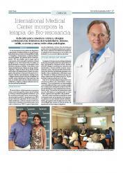 International Medical Center incorpora la terapia Bio-resonancia
