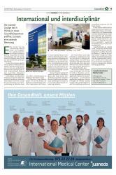 International Medical Center Juaneda: Internacional e interdisciplinar